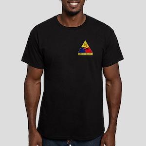 Jersey Blues Men's Fitted T-Shirt (dark)
