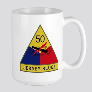 Jersey Blues Large Mug