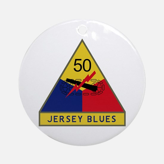 Jersey Blues Ornament (Round)