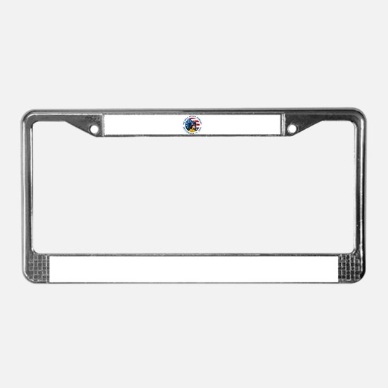 9-11 fireman firefighter License Plate Frame
