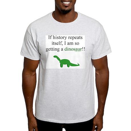 If History Repeats Light T-Shirt