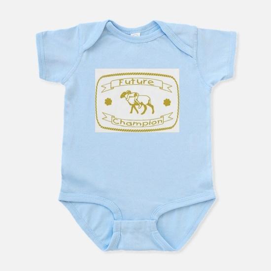 Future Mutton Buster Infant Bodysuit