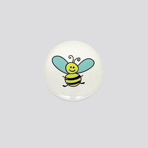 Bee Mini Button