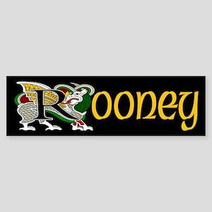 Rooney Celtic Dragon Bumper Sticker