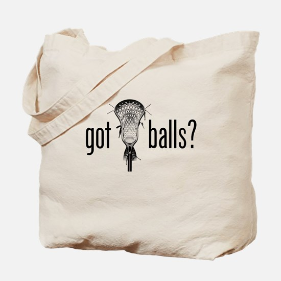 Got Balls Lacrosse Tote Bag