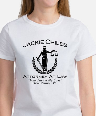 Jackie Chiles Attorney Seinfield Women's T-Shirt