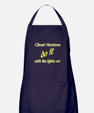 Ghost Hunters Do It Lights Out Apron (dark)