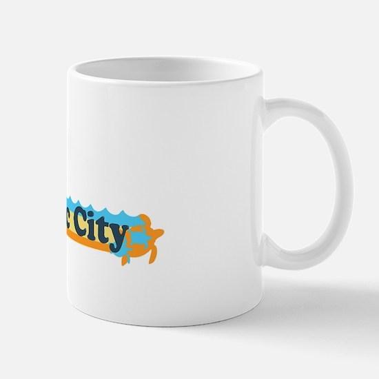 Atlantic City NJ - Beach Design. Mug