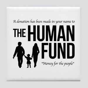 The Human Fund Seinfield Tile Coaster