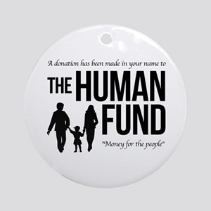 The Human Fund Seinfield Ornament (Round)