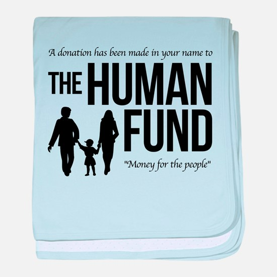 The Human Fund Seinfield baby blanket