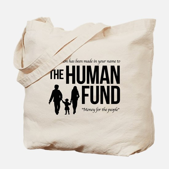 The Human Fund Seinfield Tote Bag