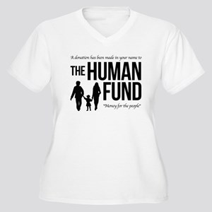 The Human Fund Seinfield Women's Plus Size V-Neck