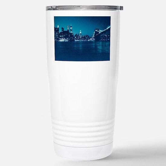 Cute New york landmark Travel Mug