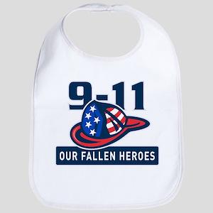 9-11 fireman firefighter Bib