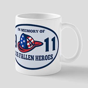 9-11 fireman firefighte Mug