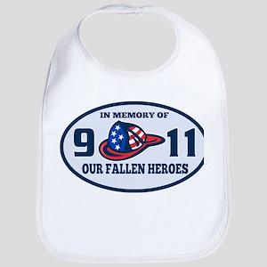 9-11 fireman firefighte Bib