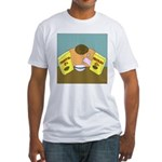 Fruitful O's (No Text) Fitted T-Shirt