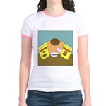 Fruitful O's (No Text) Jr. Ringer T-Shirt