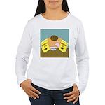 Fruitful O's (No Text) Women's Long Sleeve T-Shirt