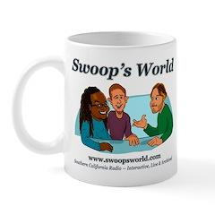 Swoops World 2014 white logo Mugs