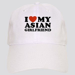 I Love My Asian Girlfriend Cap