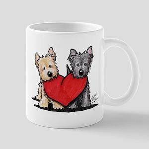 Cairn Terrier Heartfelt Duo Mug