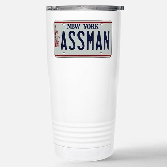Seinfield Assman Stainless Steel Travel Mug