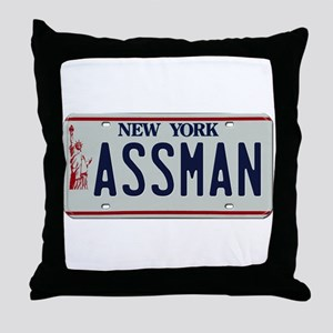 Seinfield Assman Throw Pillow
