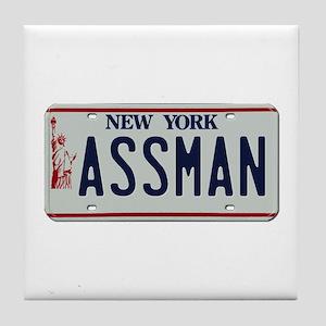 Seinfield Assman Tile Coaster