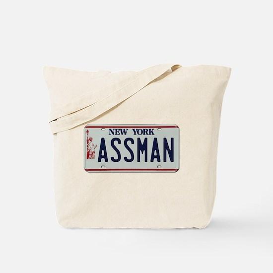 Seinfield Assman Tote Bag