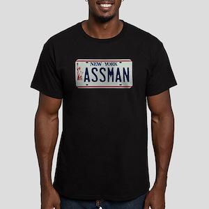 Seinfield Assman Men's Fitted T-Shirt (dark)