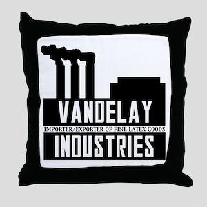 Vandelay Industries Seinfield Throw Pillow