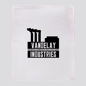 Vandelay Industries Seinfield Throw Blanket