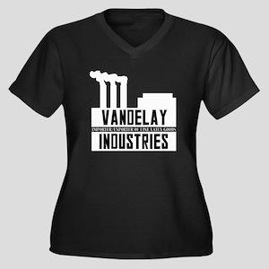 Vandelay Industries Seinfield Women's Plus Size V-