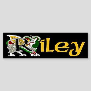 Riley Celtic Dragon Bumper Sticker