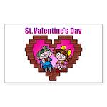 kuuma love 2 Sticker (Rectangle 50 pk)