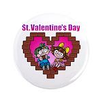 """kuuma love 2 3.5"""" Button (100 pack)"""