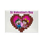 kuuma love 2 Rectangle Magnet (100 pack)