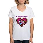 kuuma love 2 Women's V-Neck T-Shirt