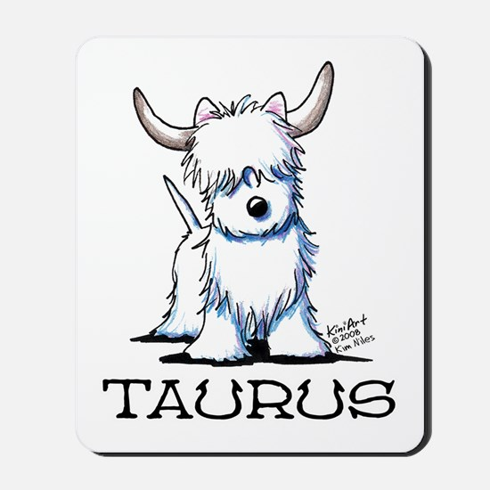 Taurus Westie Mousepad