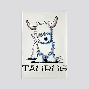Taurus Westie Rectangle Magnet