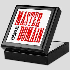 Master of My Domain Seinfield Keepsake Box