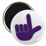 Big Purple Loser Magnet