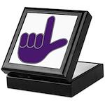 Big Purple Loser Keepsake Box
