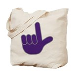 Big Purple Loser Tote Bag