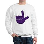 Big Purple Loser Sweatshirt