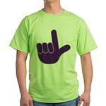 Big Purple Loser Green T-Shirt