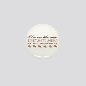 Men Are Like (Burg) Mini Button