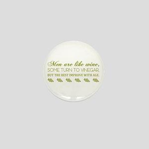 Men Are Like... (Grn) Mini Button